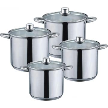 8pcs Economic stock pot