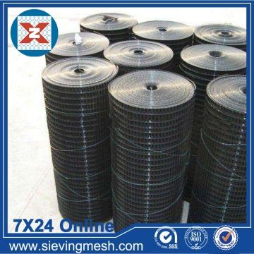 Black PVC Coated Welded Mesh
