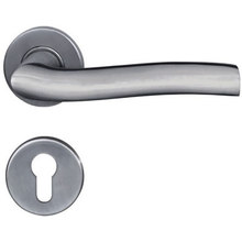 Solid Casting Lever Hotel Door Handle