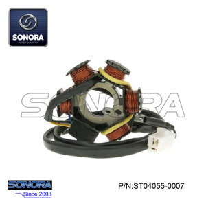 Factory Cheap price for Piaggio Vespa Pk50 Stator Peugeot Buxy Elyseo 50 Stator Coil Magneto export to Russian Federation Supplier