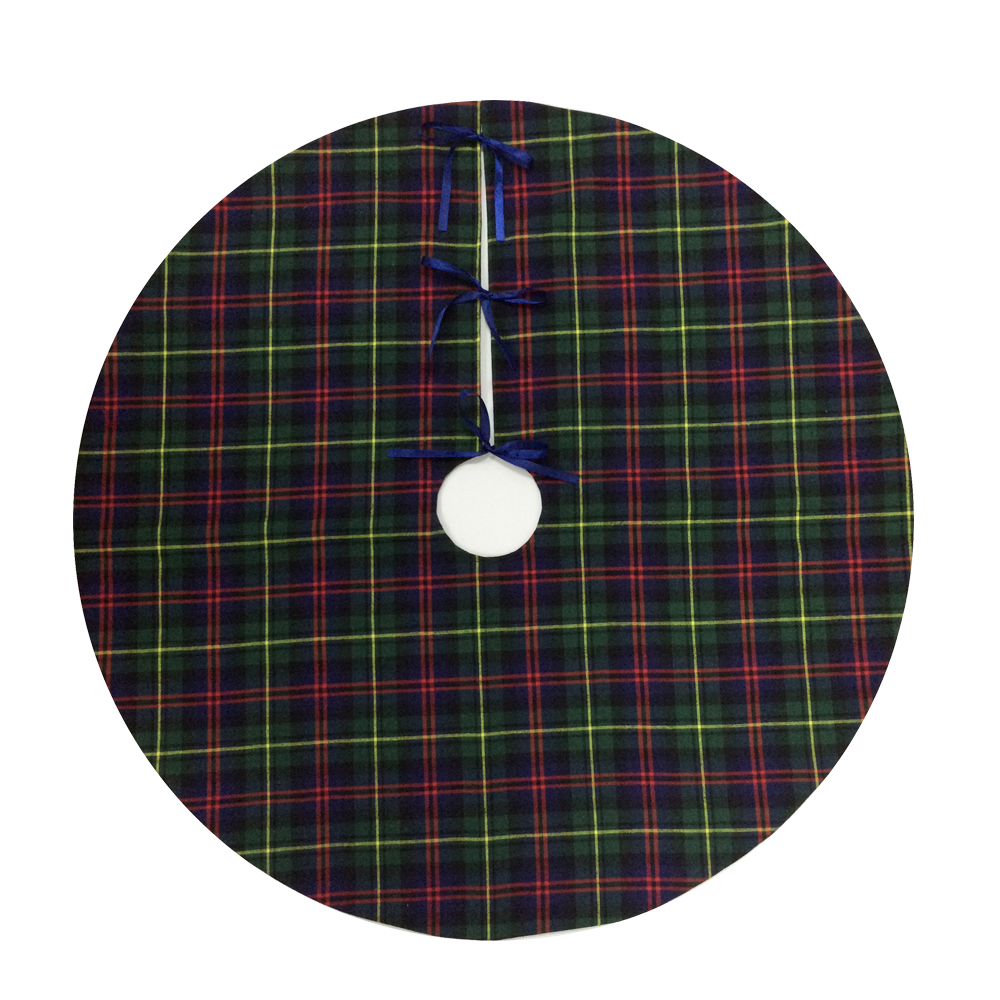 New Scottish Christmas Tree Skirt