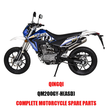 QINGQI QM200GY-H ASD Engine Parts Motorcycle Body Kits Spare Parts Original