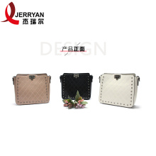 Branded Bucket Crossbody Bag Long Strap