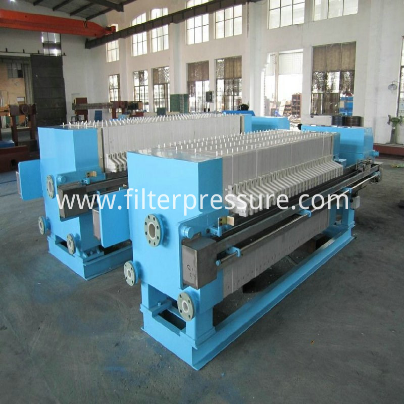 Pharmacy Stainless Steel Filter Press 1