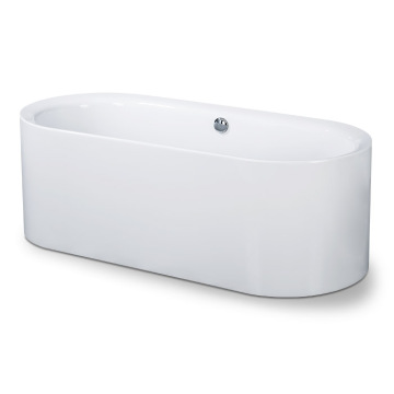 Oval Acrylic Soaking Freestanding Bathtub