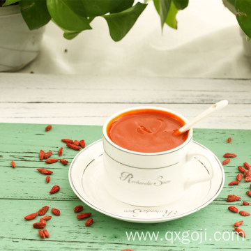 Health food organic goji juice concentrate