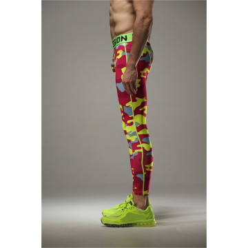 Mens MMA Tights sublimation printed bodybuilding leggings