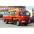 Dongfeng 6 Ton Truck with Cranes