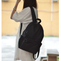 Custom plain student canvas backpack for women