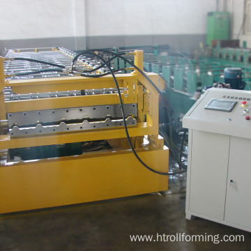 High technology roof tile racking shelf roll forming machine