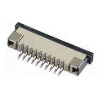 1.0MM FPC Connector Vertical Dip Type ZIF