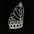 Wholesale Large Tara Rhinestone Pageant Crown
