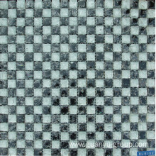 PriceList for for China Arch Shaped Glass Mosaic,Glass Mix Stone Mosaic, Decorate Glass Mosaic Tile Supplier White& Black Glass Cracked Mosaic Tile supply to Tuvalu Importers