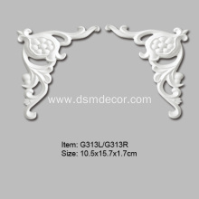 China for Polyurethane Decorative Elements Small Popular Wall Decor Ornaments export to United States Exporter