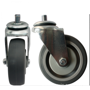 4'' TPR Shopping Cart Castors