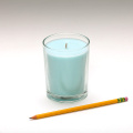 Vintage Style Blue Candle Lighter Clear Container Candles
