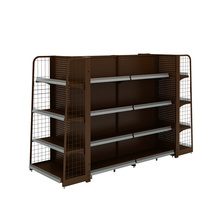 Supermarket And Retail Store Metal Display Shelf