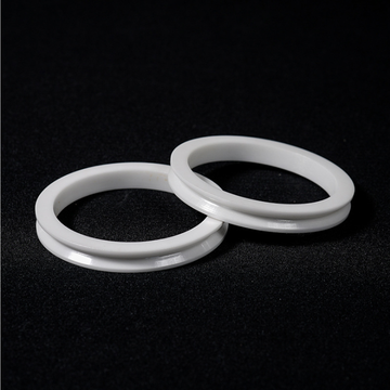 Wear Resistant Zirconium Oxide ZrO2 ceramic Spacer Washer
