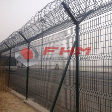 Leading for Airport Fencing Of Welded Wire,Welded Wire Airport Fencing,Plastic Mesh Fencing Manufacturer in China Welded Wire Mesh Airport Fence with High Security supply to Poland Supplier