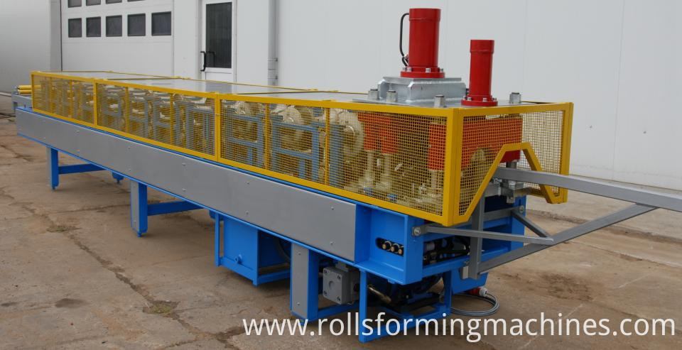 lows matel roofing cost and ridge cap making machine 03