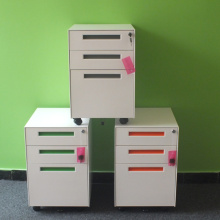 Lowest Price for Mobile Pedestal 3 Drawer Colorful Office Equipment 3 Drawer Mobile Pedestal export to Singapore Suppliers