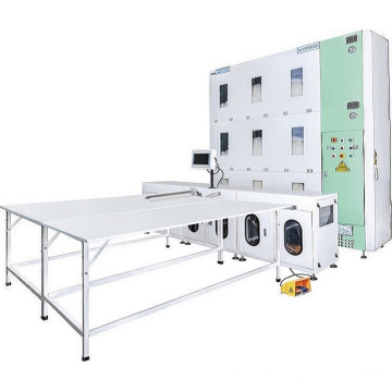 China for Smart Duvet Filling Machine Luxury Down Comforter Filling Machine supply to Bolivia Factories