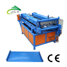 Portable standing seam roof machine