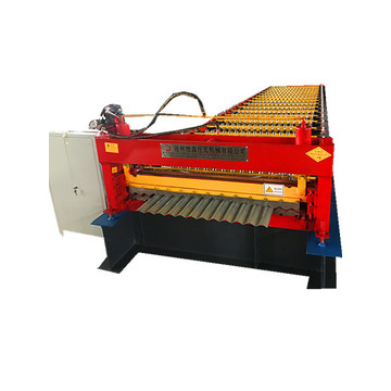 aluminium corrugated roof sheet making machine