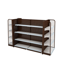 Europe style for Backplane Supermarket Shelf,Hole Supermarket Shelf,Net Supermarket Shelf Manufacturers and Suppliers in China Supermarket And Retail Backhole Display Shelving supply to Brunei Darussalam Wholesale