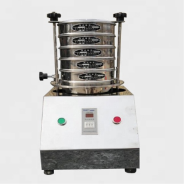 Vibrating sieve shaker machine