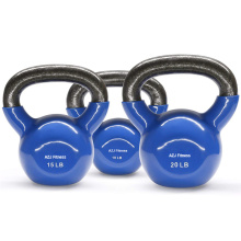 Cast Iron Chrome Handle Kettlebell