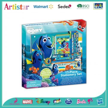 Dory 11 piece stationery set