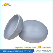 Factory directly sale for Aluminum 6063 Cap Alloy aluminum seamless 6061T6 3 inch cap supply to Namibia Manufacturer