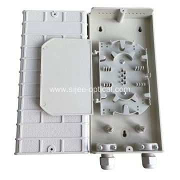 Purchasing for China Plastic Ftth Mini Fiber Optic Terminal Box, Fiber Optic Terminal Box Exporters Pigtail Type  12 core Fiber Optic Termination Box export to Antigua and Barbuda Factories