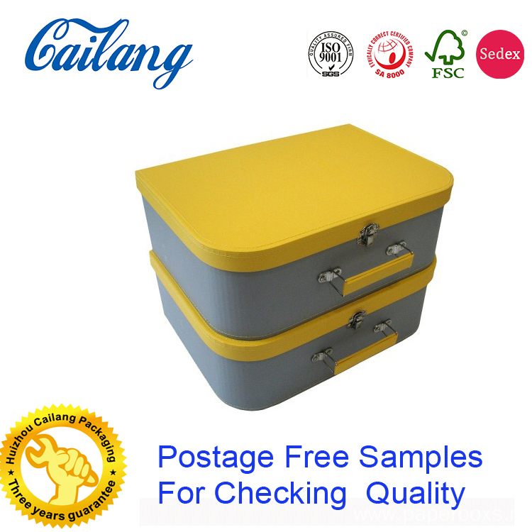 Rigid Suitcase With PP handle