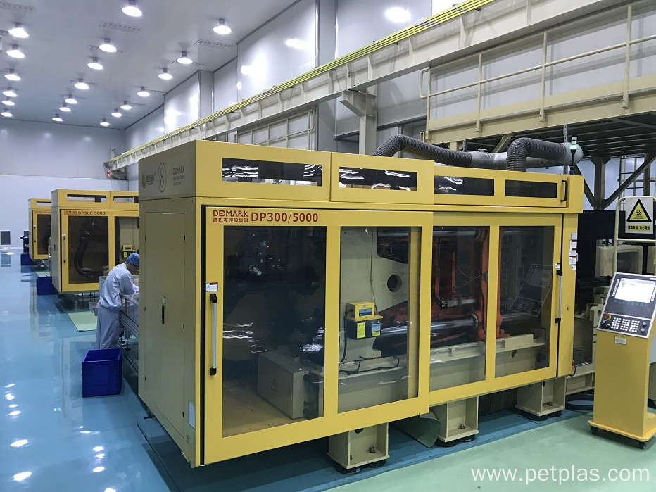 DP 300TON/5000G high speed preform injection system
