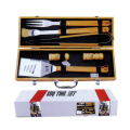 6pcs bbq bamboo carving tools set