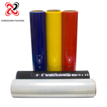 Metallocene native PE tray stretch film