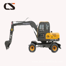 new 0.5Ton 0.6 Ton mini wheel excavator