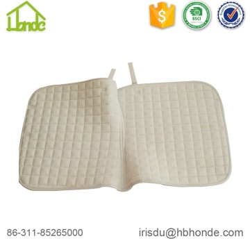 Polycotton Fabric Waffel Lining Horse Saddle Pad