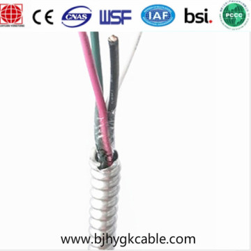 Mc Cable Interlocked Aluminum Armored Cable 600V Mc AC Bx Cable