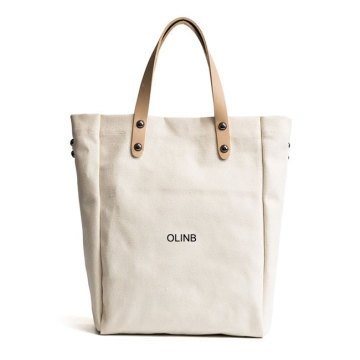 Print Fashion Simple Canvas Tote Shoulder Bag