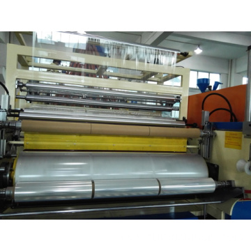 Three Extrusion Screws Stretch Film Machinery