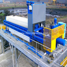 Hydraulic Driven Sugar Syrup Stainless Steel Filter Press