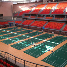 Goods high definition for Synthetic Badminton Court Flooring Badminton court floor pvc floor 4.5mm thickness export to Thailand Supplier