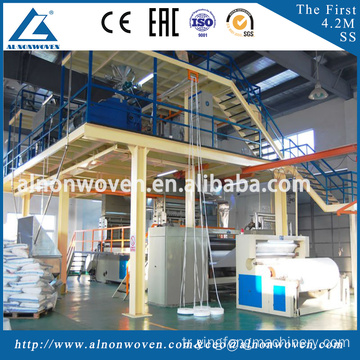 New design 3.2m SS non woven fabric making machine with best quality