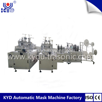 Automatic boat mask making machine