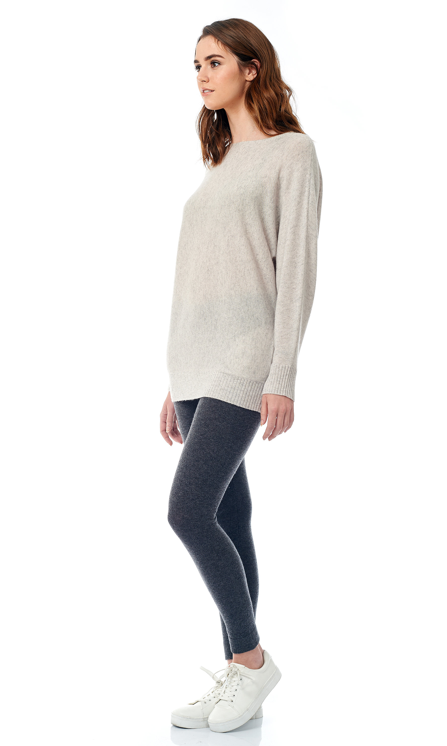 welt knit pullover side look