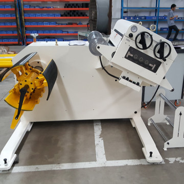 Steel Coil Manual Unwinding leveling machine