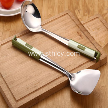 Stainless Steel Kitchenware Cooking Spatula Set Wholesale